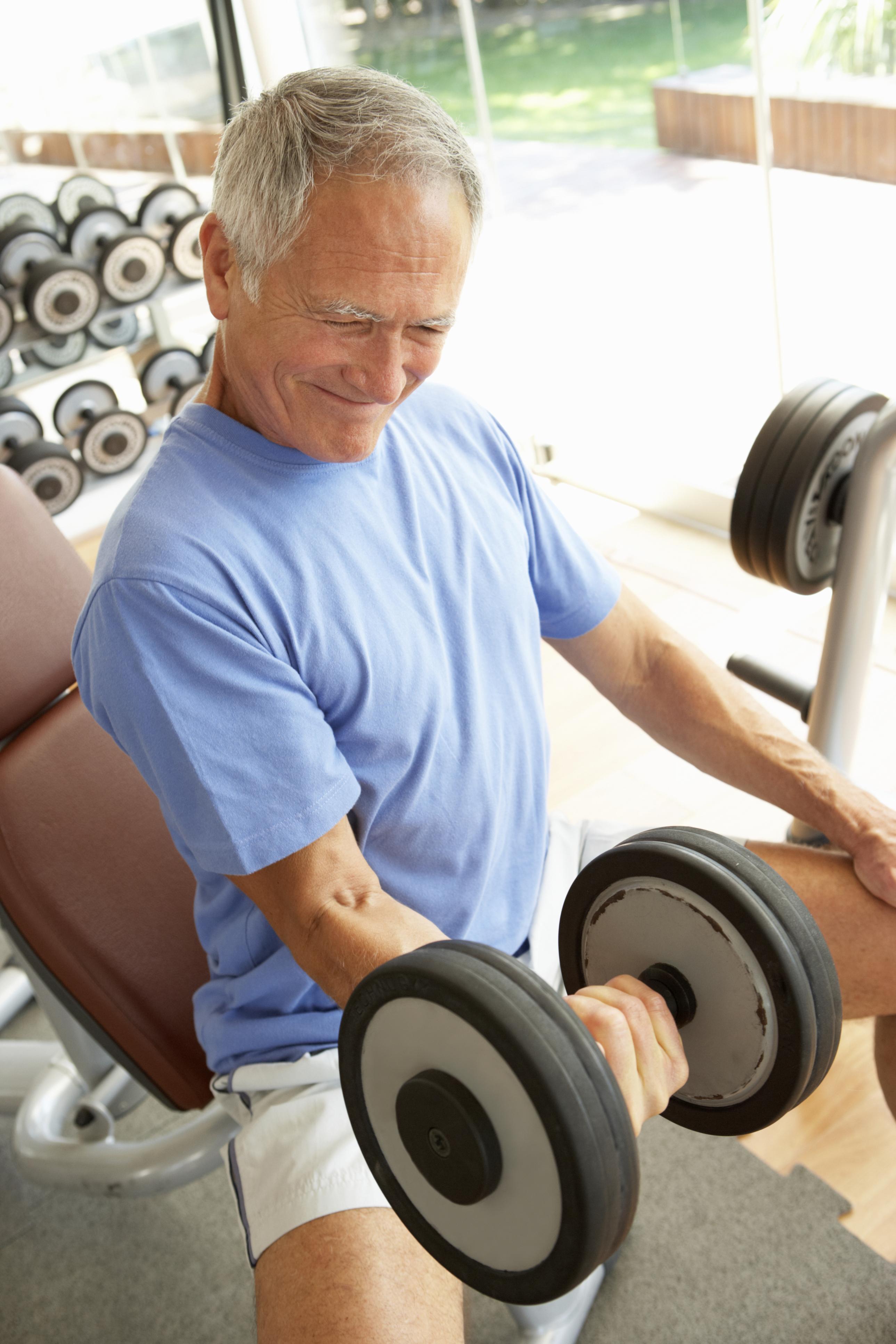 Seniorer vill gärna träna – om de får hjälp